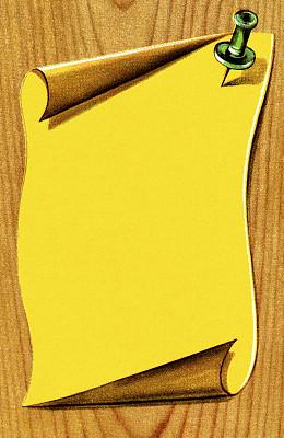 纸,忠告,厚木板,黄色,一个物体,垂直画幅,图像,无人,设计元素