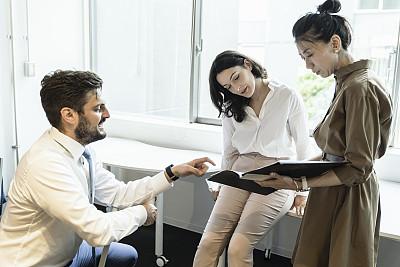 现代,商务人士,全球通讯,做计划,商务,专门技术,多样,灵感,导演,女人