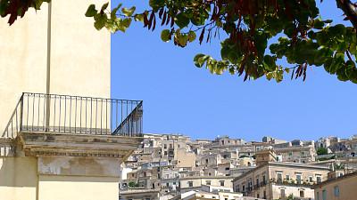在上面,拉古萨,都市风景,无人,旅游目的地,建筑外部,图像,户外,水平画幅,建筑