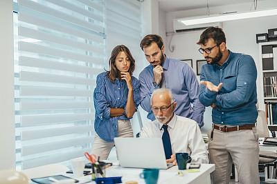 办公室,问题,商务,专业人员,计算机,工程师,技术,女人,青年女人,大量人群