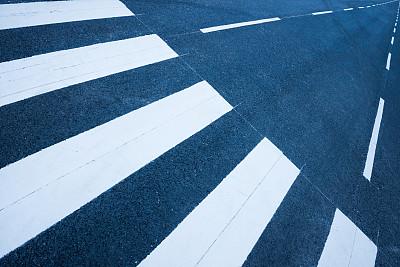 涂料,新的,斑马线,路,品牌名称,纹理效果,瑞典,沥青,清新,步行道路