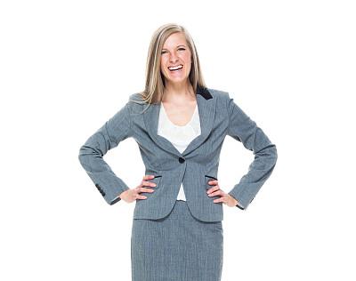 女商人,商务,经理,专业人员,背景分离,一个人,25岁到29岁,正装,女人,仅一个青年女人