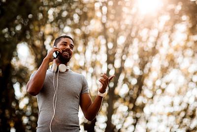 运动,一个人,活力,仅男人,肖像,技术,仅一个男人,公园,林区,户外