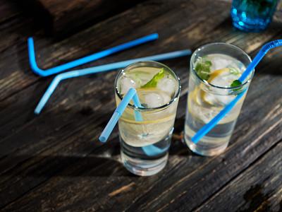 柠檬水,饮料,素食,寒冷,清新,食品,玻璃杯,果汁,柠檬,成分
