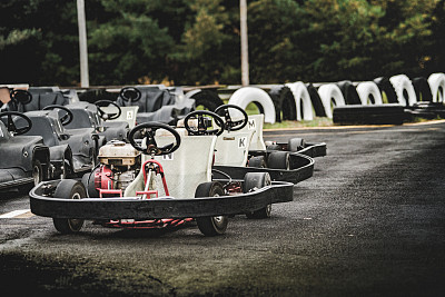 Au Québec dans la municipalité de L'avenir, un circuit de Karting.