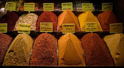 香料,欧洲,土耳其,咖喱,图像,市场,咖喱粉,胡椒,辣椒,无人
