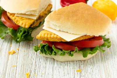 牛肉,牙买加,面包,椰子岛,汉堡包,香料,饮食产业,食品,辣椒,三明治