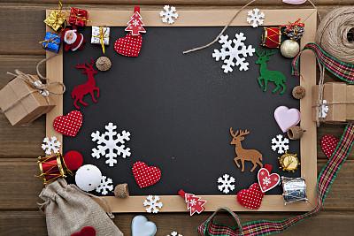 背景,华丽的,贺卡,圣诞装饰物,空的,绳子,土耳其,圣诞卡,新年前夕