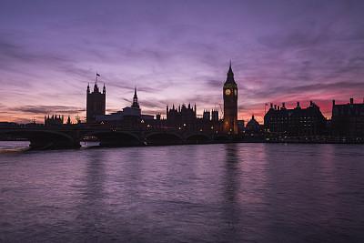 大本钟,伦敦,国际著名景点,钟塔,英国,著名景点,河流,户外,天空,建筑