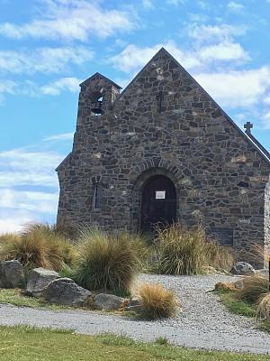 新西兰,帝卡波湖,旅途,特卡波,草,著名景点,窗户,湖