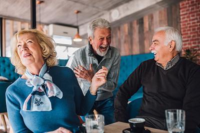 中老年人,老年男人,丈夫,中老年男人,咖啡杯,妻子,浪漫,半身像,幸福,咖啡