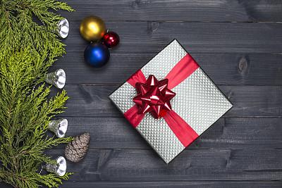 新年前夕,背景,包装纸,传统,贺卡,圣诞装饰物,边框,圣诞卡,装饰物