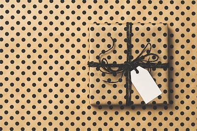 礼物,纸,斑点,有包装的,背景,圣诞装饰物,几何形状,一个物体,新年前夕,简单