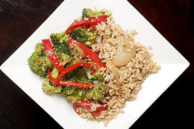 米,蔬菜,素食,红色,健康食物,饮食,主食,食品,东方食品,图像