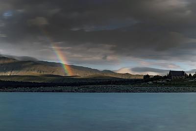 新西兰,帝卡波湖,新西兰南岛,云景,云,图像,特卡波,宁静,无人