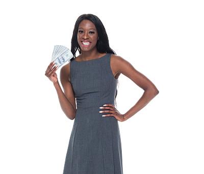 女商人,自然美,黑色,专业人员,商业金融和工业,影棚拍摄,仅女人,仅一个女人,非洲人,半身像