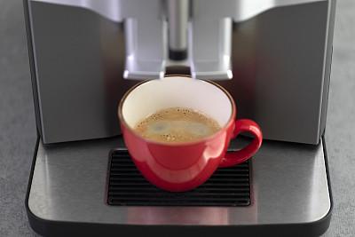咖啡机,咖啡,室内,形状,多色的,红色,瓷器,芳香的,堆,概念