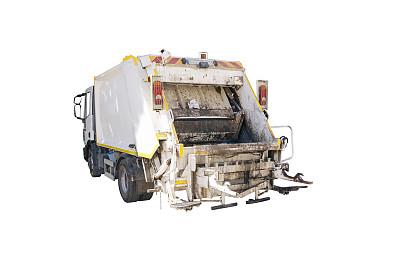 垃圾车,交通,人,污水,土耳其,背景分离,卡车,环境,垃圾,交通方式