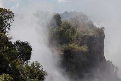 维多利亚瀑布,南部非洲,非洲,赞比亚,世界遗产,图像,津巴布韦,无人,赞比西河,旅游目的地