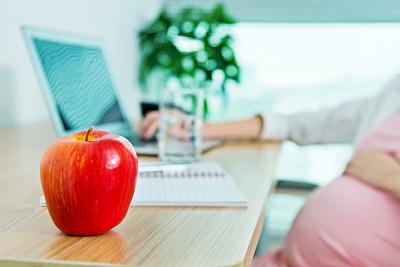 办公室,女人,苹果,横截面,舒服,技术,中国,商业金融和工业,中国人,水果