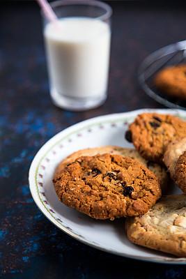 清新,饼干,烤盘,白巧克力,偏好,牛奶,饮食产业,主食,食品,英国