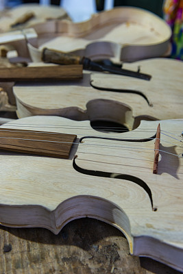 A kind of rustic violin used in traditional cai?ara music