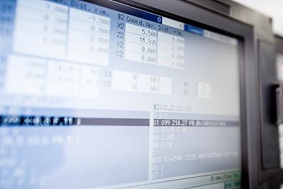 车床,制造机器,工业,显示器,特写,机件,组物体,数字化显示,图表,部分