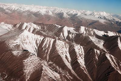 山脉,喜马拉雅山脉,地形,山脊,雪山,极限运动,户外,高处,自然,白昼