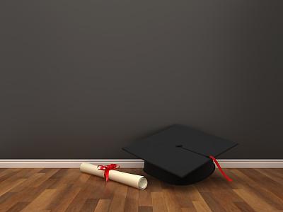 三维图形,文凭,住宅房间,学位帽,舒服,地板,住宅内部,建筑,木制,办公室
