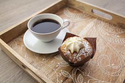 咖啡,松饼,饮料,咖啡杯,蛋糕,杯,早餐,食品,图像,英国