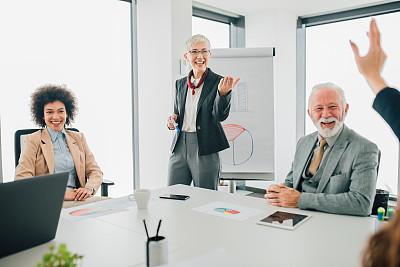 女商人,会议,专业人员,工作年长者,商业金融和工业,商务策略,创作行业,办公室,脑风暴,幸福