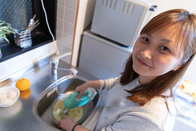 蛋糕,全球通讯,学生,25岁到29岁,鸡蛋,京都市,京都府,仅一个女人,厨房,幸福