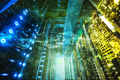 背景,城市,电子人,混沌,抽象,汽车,节点1,技术,脑部,几何学