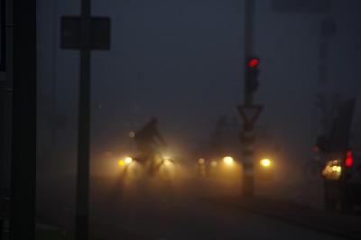 交通,秘密,卡车,汽车,自行车,前进的道路,商用车,少女,飙摩托车者,夜晚