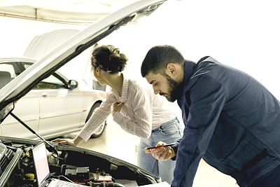 汽车,顾客,问题,汽车修理间,有序,肖像,技术,车间,粗棉布裤