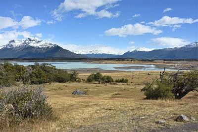 巴塔哥尼亚,浪漫,草原,世界遗产,全景,图像,埃尔卡拉法特,无人,湖,阿根廷