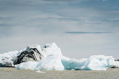 Blue Ice formation,  Fjallsj?kull , Asturland, Iceland, Europe