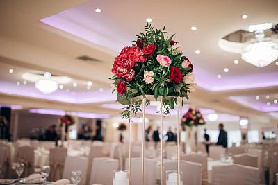 华贵,婚礼,玫瑰,事件,玻璃杯,椅子,餐馆,餐桌,亲昵,大量物体