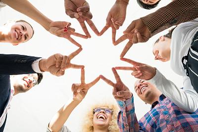 办公室,友谊,技术,商业金融和工业,圆形,领导能力,幸福,商务人士,男商人