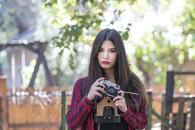 摄影师,自然,女人,旅途,专业人员,公园,户外,仅女人,仅一个女人,业余爱好