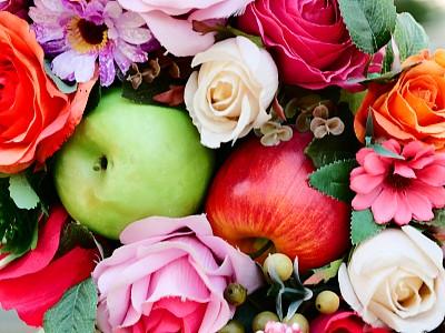 水果,玫瑰,纹理效果,美术工艺,多样,浪漫,泰国,壁纸,自然美,春天