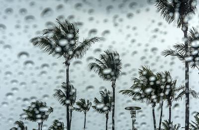 暴风雨,暗色,汽车,云,流水,水灾,情绪压力,乌云,自然,白昼
