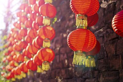 亚洲,灯笼,传统节日,亚洲人种,多色的,红色,禅宗,幻想,幸福,灵性