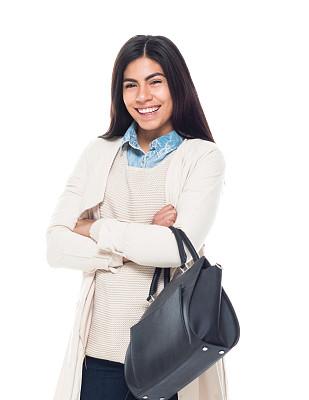 女性,青年人,商务,背景分离,一个人,女性特质,女人,青年女人,仅一个青年女人