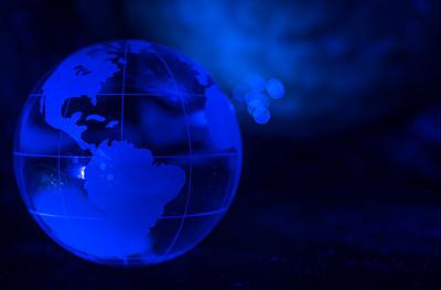 地球,夜晚,球体,星形,暗色,蓝色,黑色,闪亮的,深的,幻想