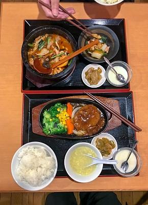 轻便电炉,波特派,盐渍食品,热,部分,茶碟,中国食品,西兰花,餐具,洋食