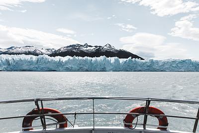 船,阿根廷,风景,冰河,寒冷,世界遗产,云,雪,自然美