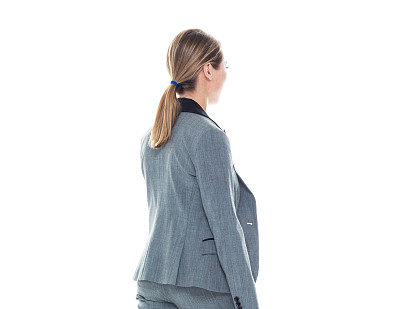 女商人,套装,侧面视角,灰发,衣服,在活动中,商务,专业人员,背景分离