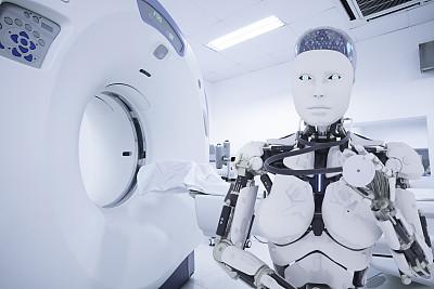 电子人,医药职业,药,科学实验,x光仪器,技术,医疗器械,现代