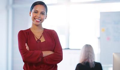 女人,专业人员,部分,肖像,现代,仅女人,领导能力,仅一个女人,办公室,注视镜头